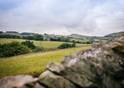 Views out of Further Harrop Farm