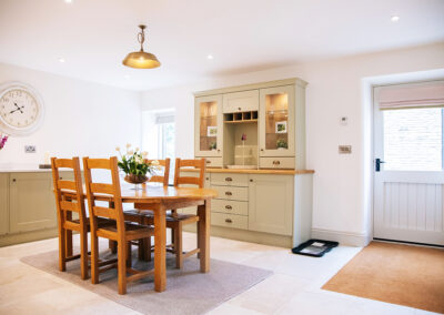 dining space in The Cottage