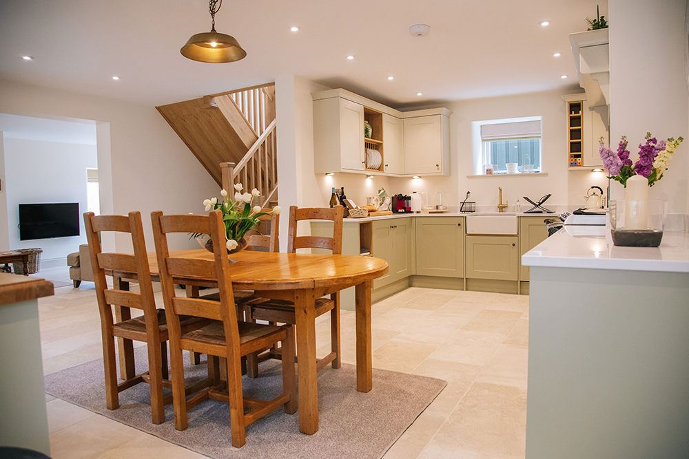 huge open plan downstairs at Further Harrop Cottage